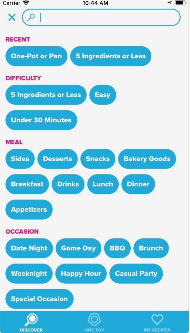 Tasty Recipes App // Apps For The Modern Woman on The Good Trade