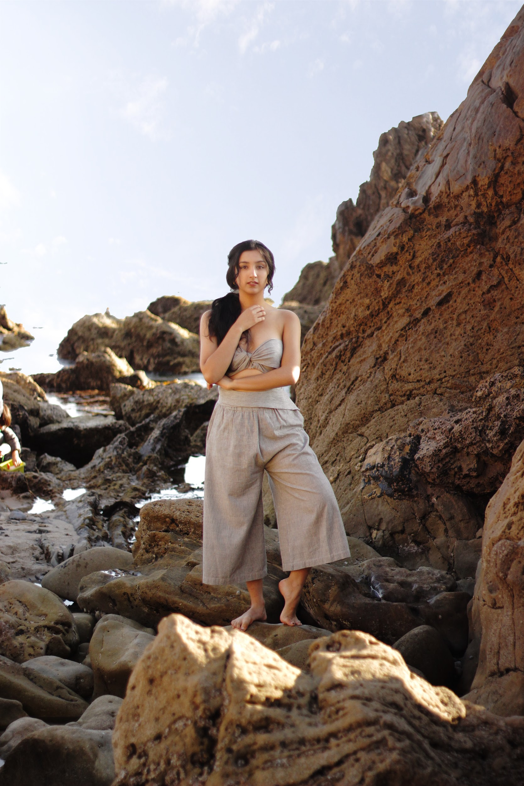Sustainably made beach wear // A Week Of Ethical Outfits With Aditi Mayer on The Good Trade