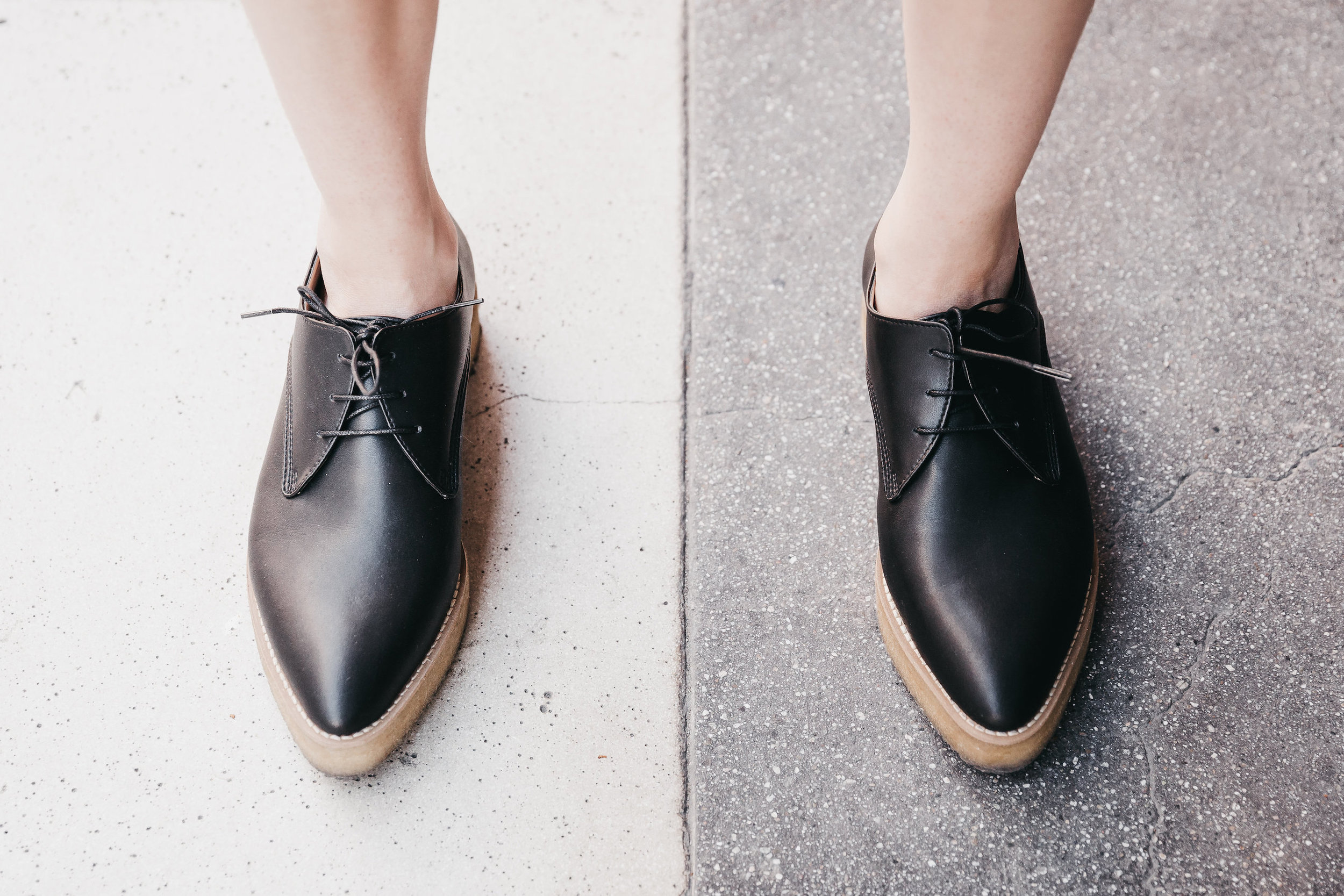 Vegan shoes // A Week Of Bright & Bold Ethical Outfits With Michelle Chavez From Michelle For Good on The Good Trade