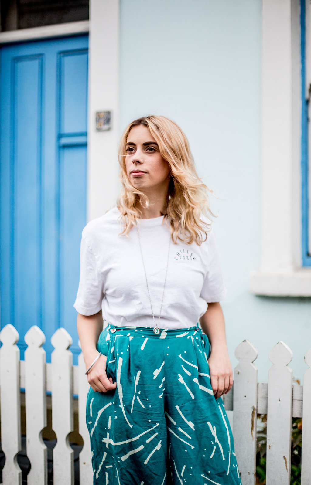 Chiller than thou t-shirt  // A Week Of Vibrant & Global Outfits With Francesca Willow From Ethical Unicorn on The Good Trade