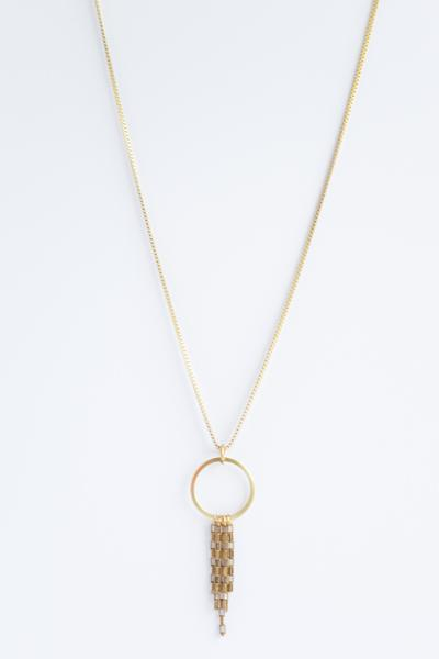 Lumi Necklace   Melt Goods // Refugee-Made Goods Supporting Displaced Artisans Around The World on The Good Trade