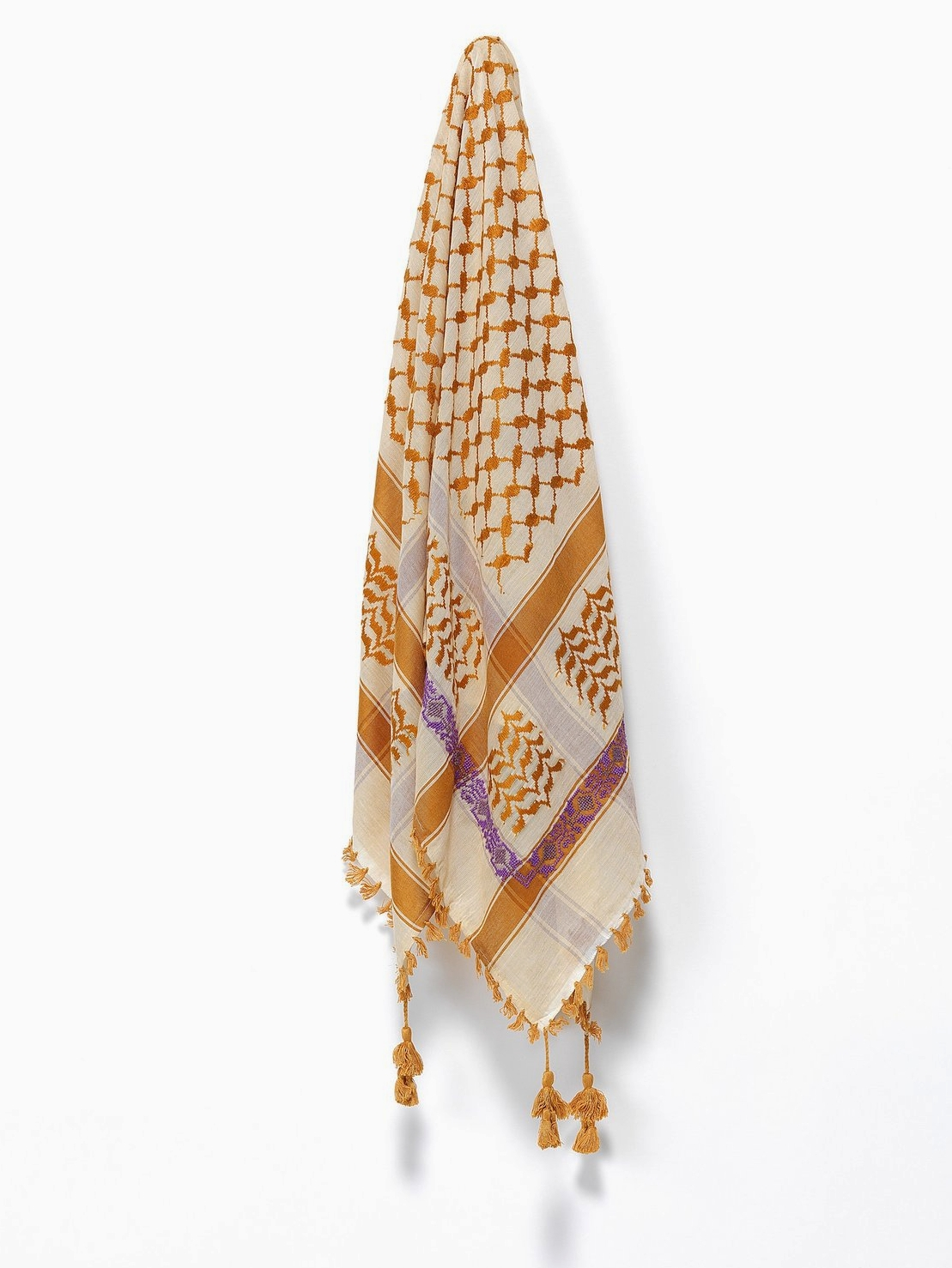 May Kuffieh Scarf   SEP Jordan // Refugee-Made Goods Supporting Displaced Artisans Around The World on The Good Trade