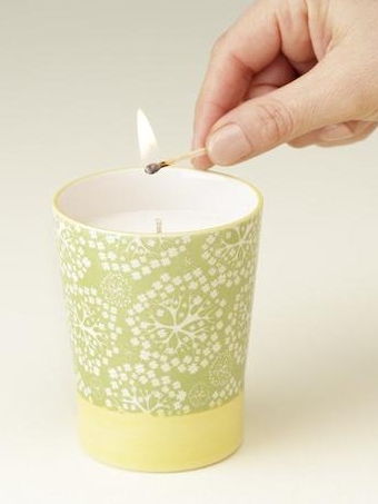 Valencia Candle   Prosperity Candle // Refugee-Made Goods Supporting Displaced Artisans Around The World on The Good Trade