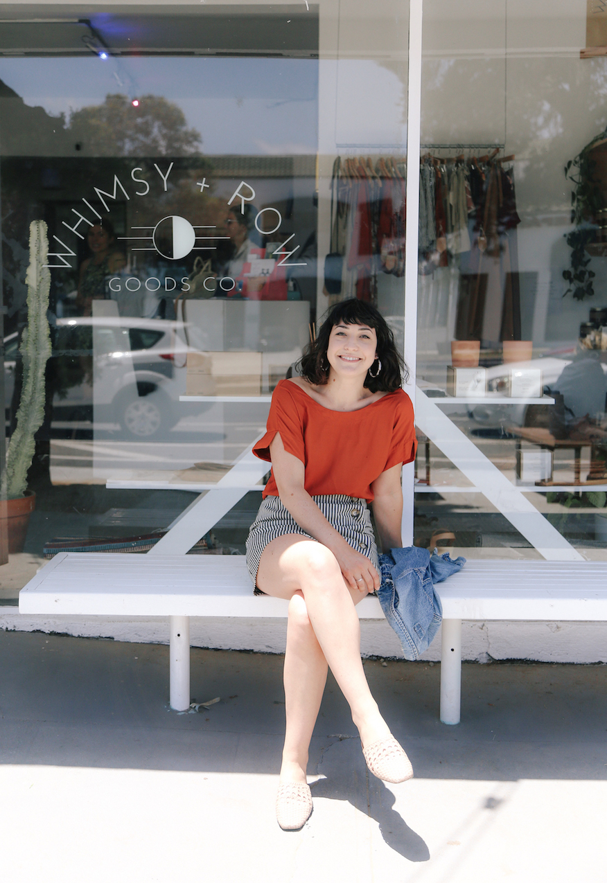 Summer outfit from Whimsy + Row // A Week Of Made-In-LA Outfits With Rachel Temko, Founder Of Whimsy + Row on The Good Trade