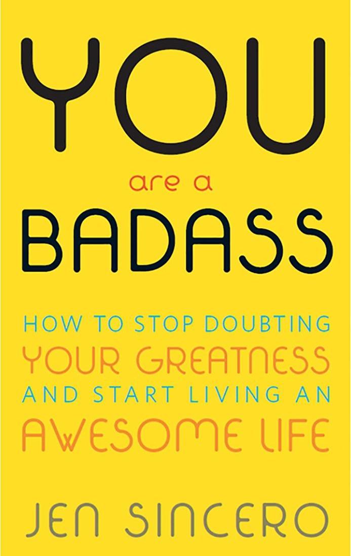 Girlboss Books For Millennial Women - You Are A Badass by Jen Sincero