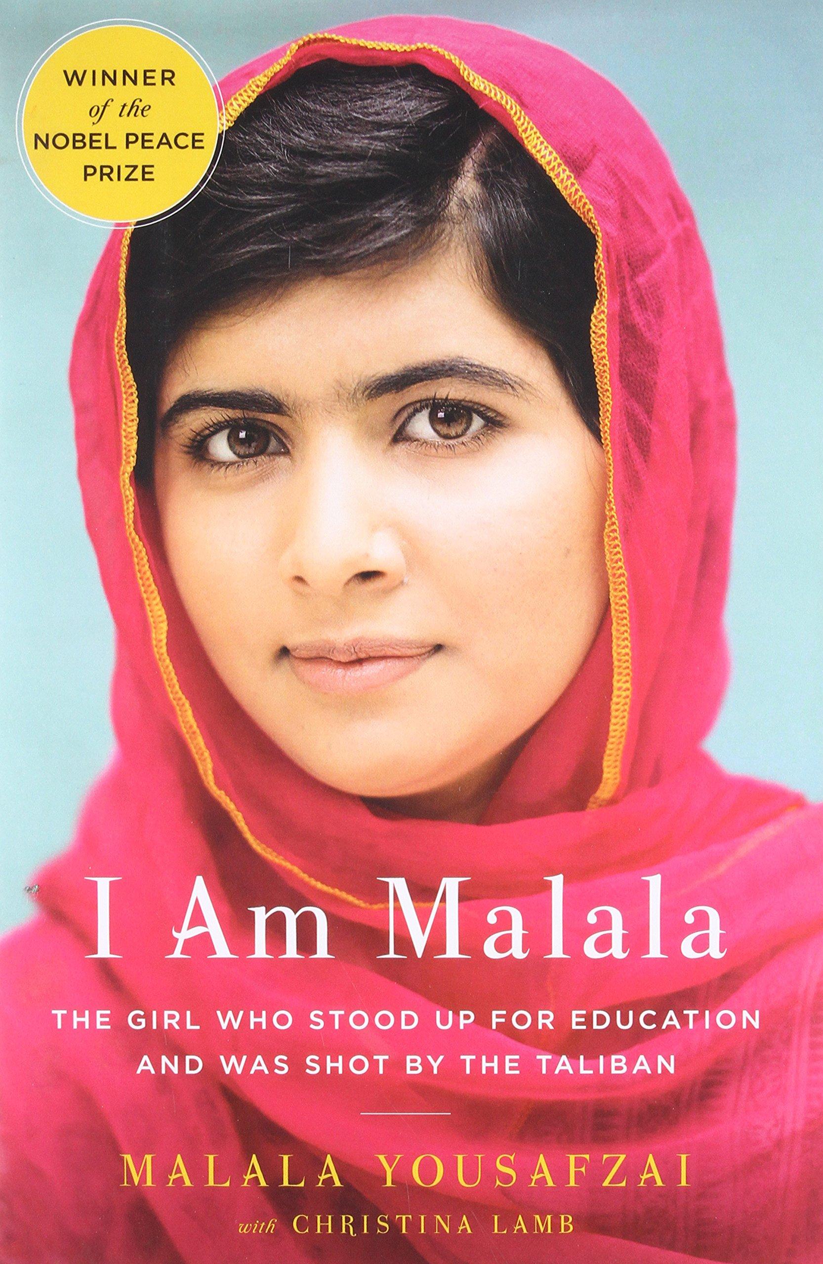 Inspiring Books For Young Women - I Am Malala by Malala Yousafzai