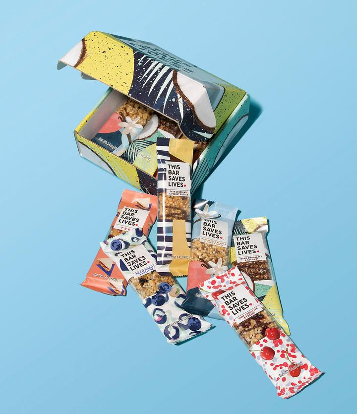 School Supplies That Give Back - This Bar Saves Lives Snack Bars