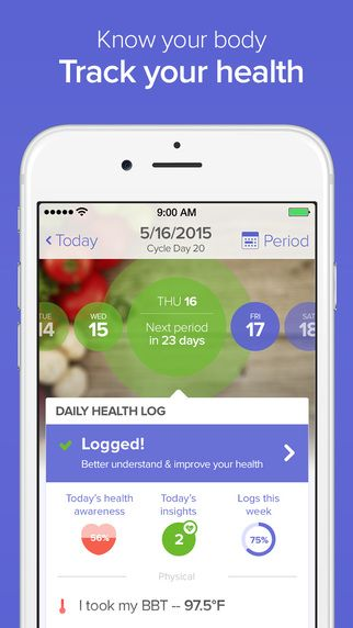 Period Trackers For Women - Glow
