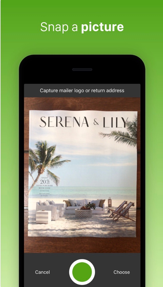 Zero Waste Living Apps - PaperKarma
