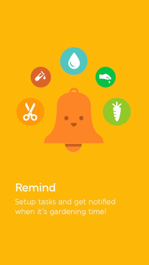Green Living Smartphone Apps - Gardenia Gardening App