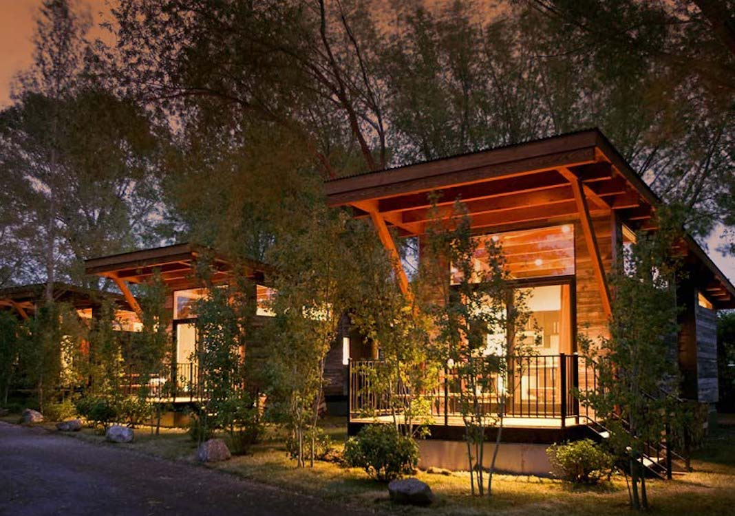 Fireside Resort in Wilson, Wyoming | 5 Eco-Friendly Mountain Hotels on The Good Trade