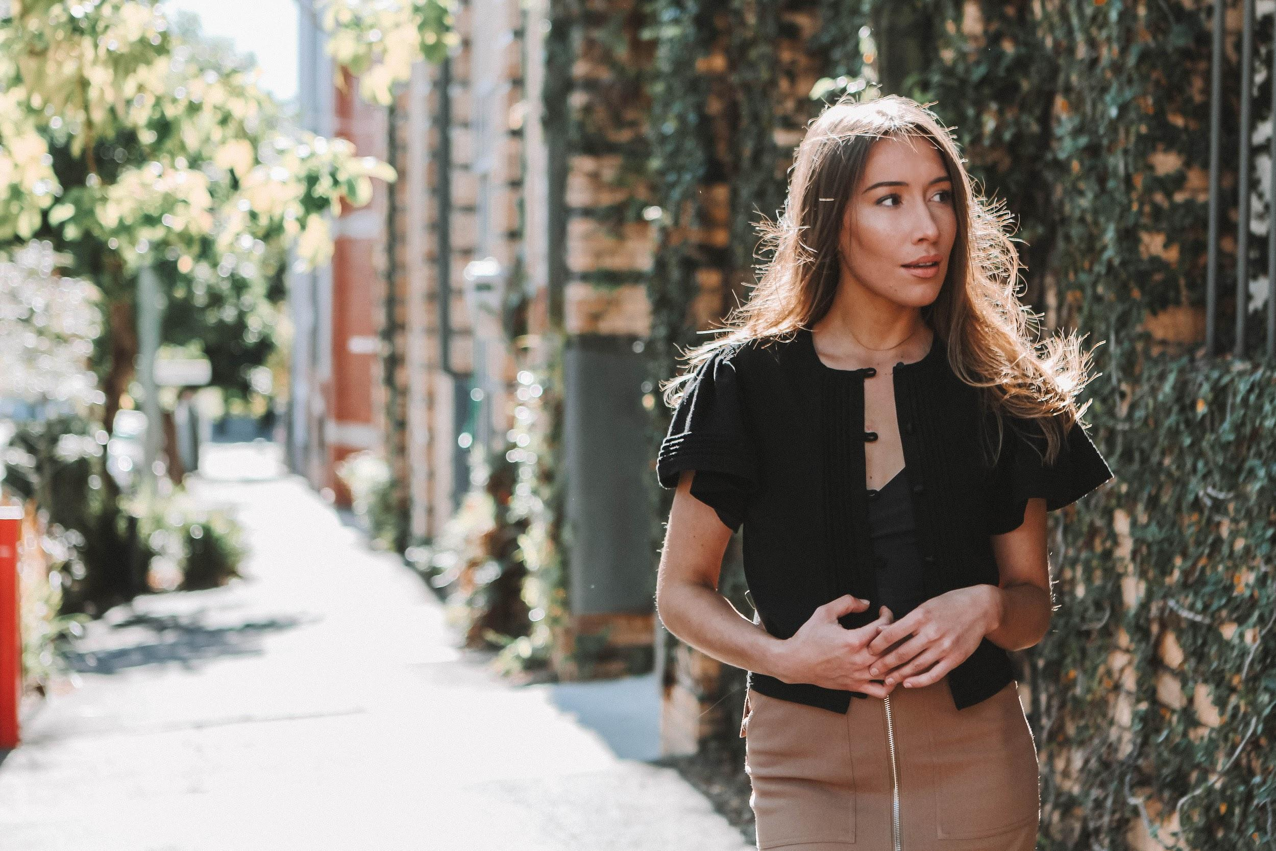 Cute summer business outfit | A Week Of Consciously Curated Outfits With Amber Boyers, Founder Of BAIIA And The Conscious Cut on The Good Trade