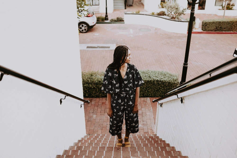 Cute outfit ideas // A Week Of 1970s-Inspired Outfits With Leah Thomas, The Sustainable Lifestyle Blogger Behind Green Girl Leah on The Good Trade