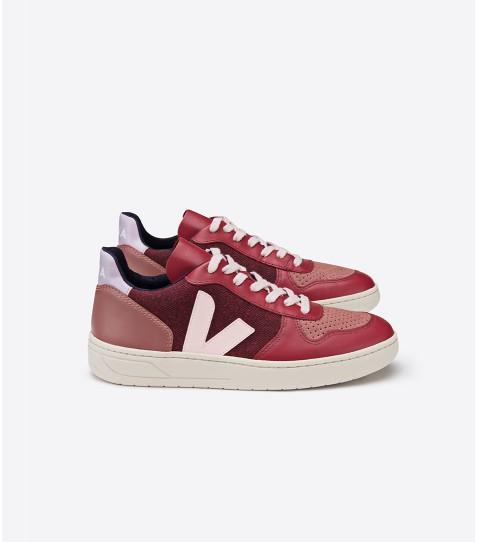 Veja Eco-Friendly Shoes in Burgundy