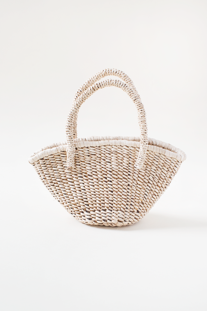 Mini Banana Woven Bag from Indego Africa