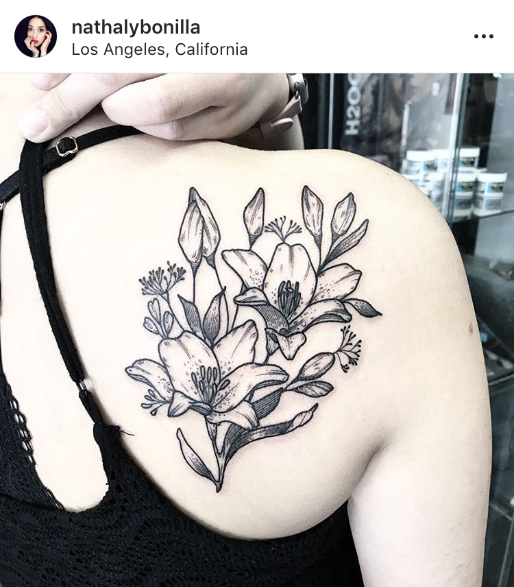 Nathaly Bonilla // Woman & Non-Binary Tattoo Artists Across The U.S. For Your Next Meaningful Ink on The Good Trade