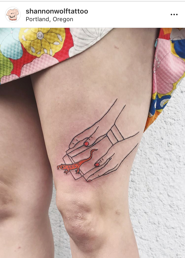 Shannon Wolf // Woman & Non-Binary Tattoo Artists Across The U.S. For Your Next Meaningful Ink on The Good Trade
