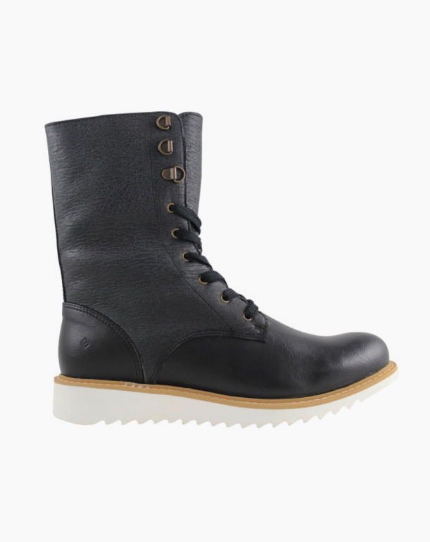 Vegan Boots For Winter - FAIR Comfortable Lace-Up Boots