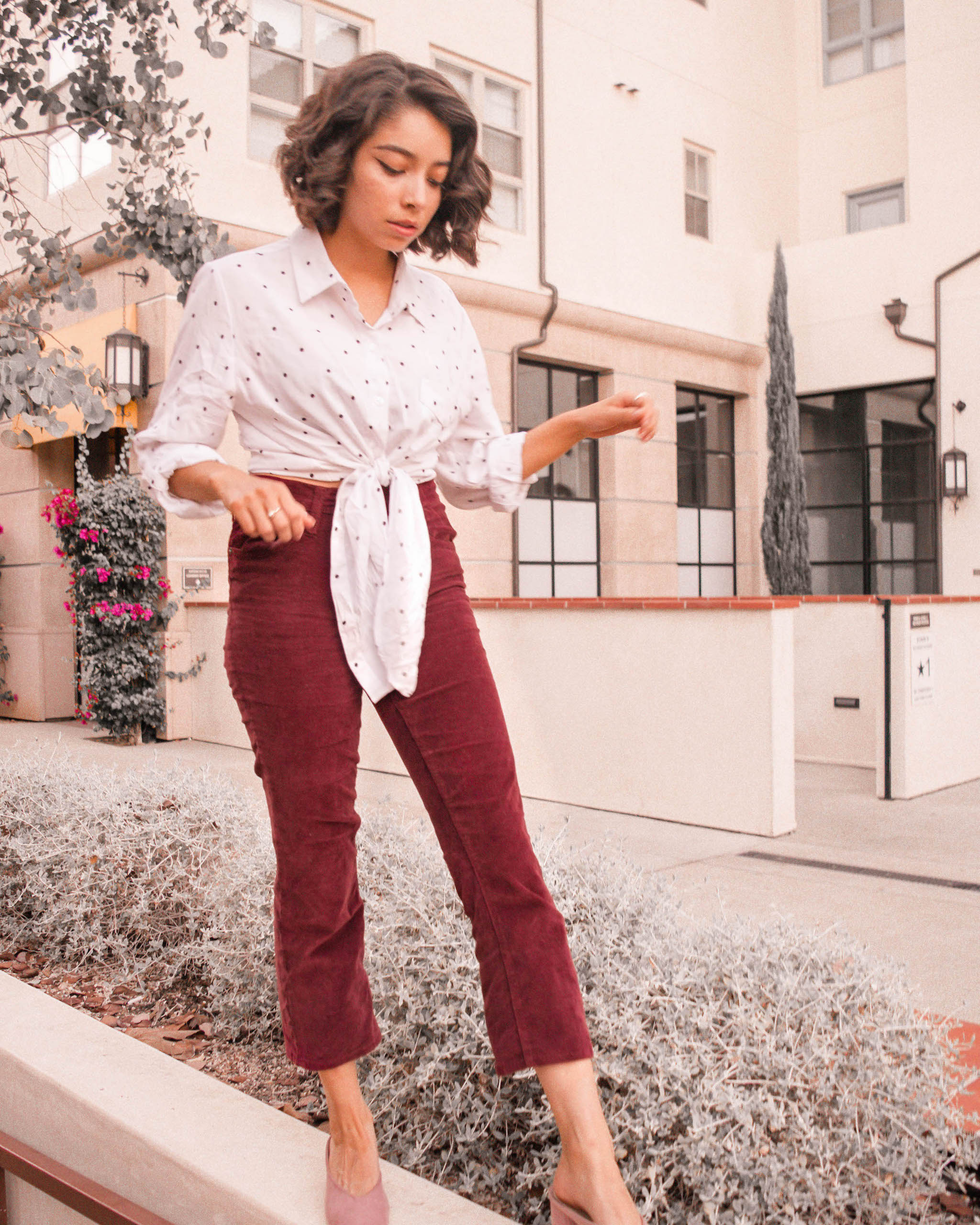 Thrifted outfit ideas // A Week Of Self-Expressive Outfits With Aja Duran From Aja With Love on The Good Trade