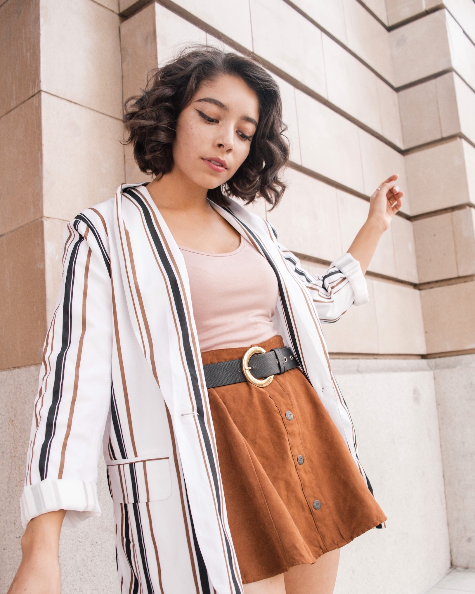 Simple fall outfit idea // A Week Of Self-Expressive Outfits With Aja Duran From Aja With Love on The Good Trade