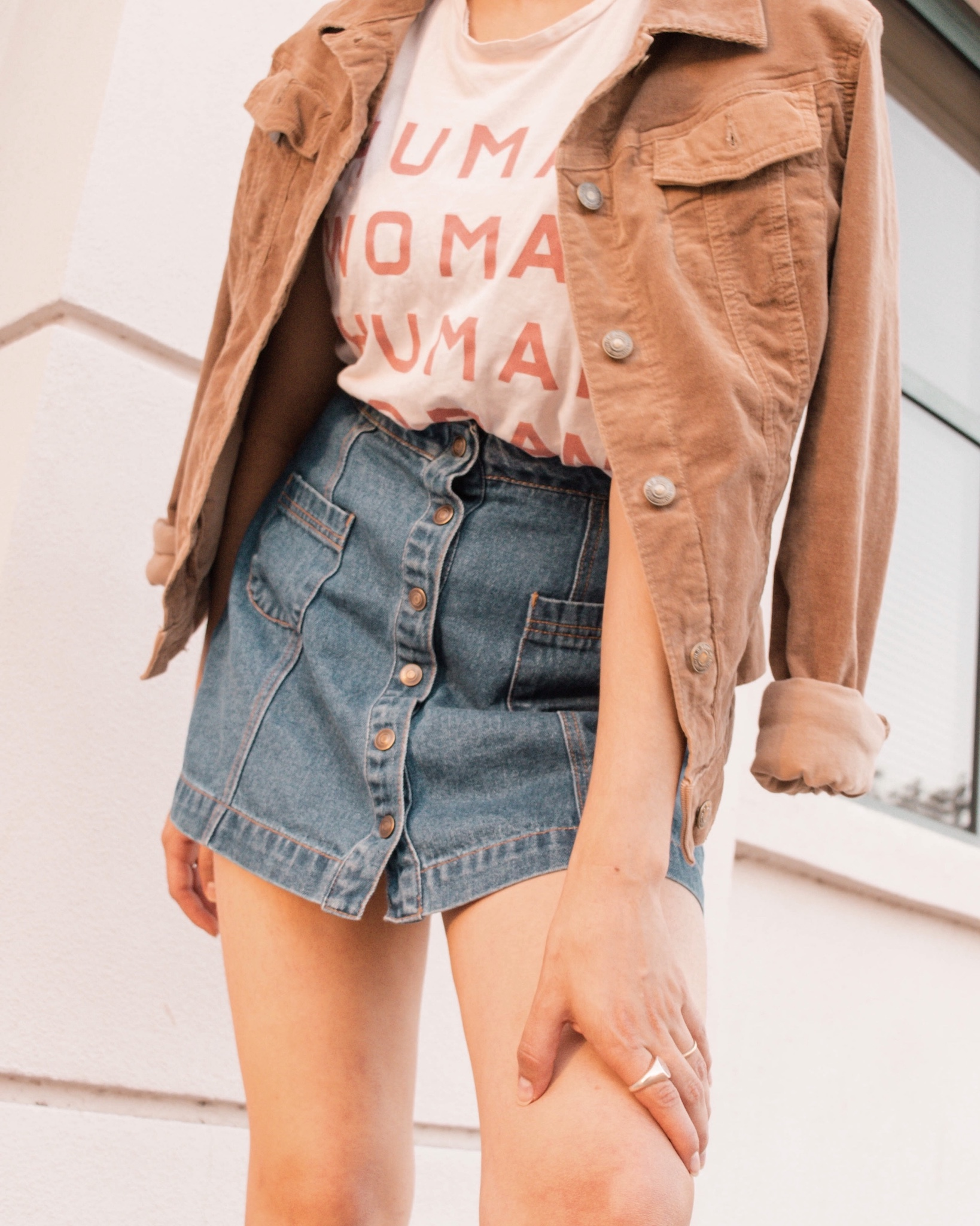 Fall layering outfit ideas // A Week Of Self-Expressive Outfits With Aja Duran From Aja With Love on The Good Trade