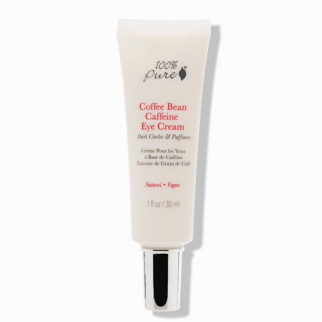 Organic Eye Cream - 100% PURE Coffee Bean Caffeine Eye Cream