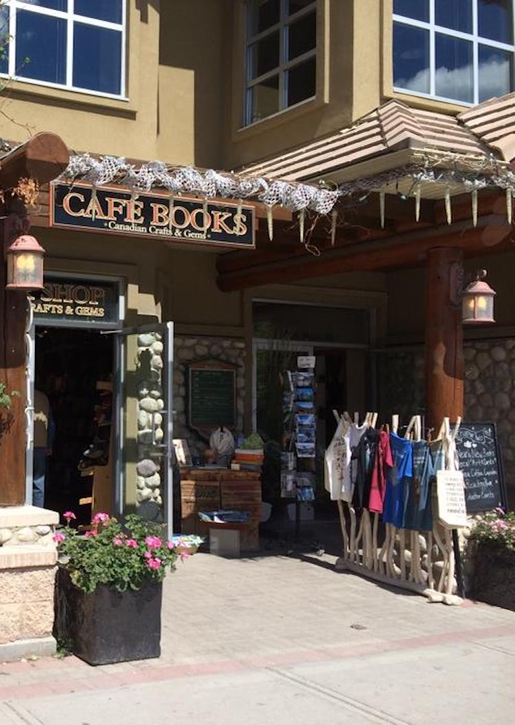 Independent Bookstores Around The World - Café Books in Alberta Canada