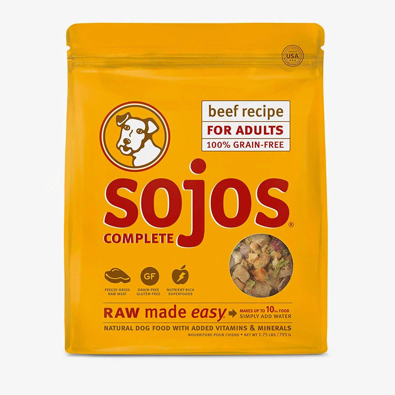 Organic Grain-Free Dog Food - Sojos Complete
