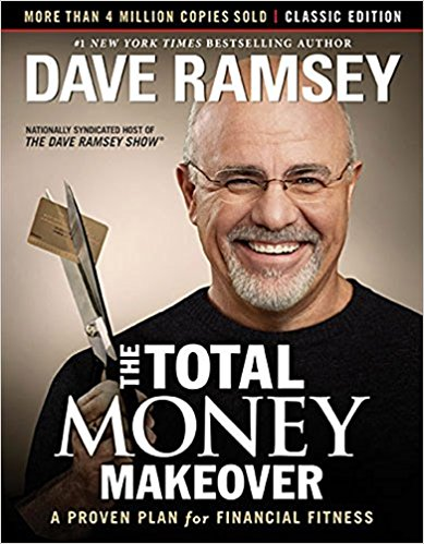 Minimalist Money Books - Dave Ramsey The Total Money Makeover