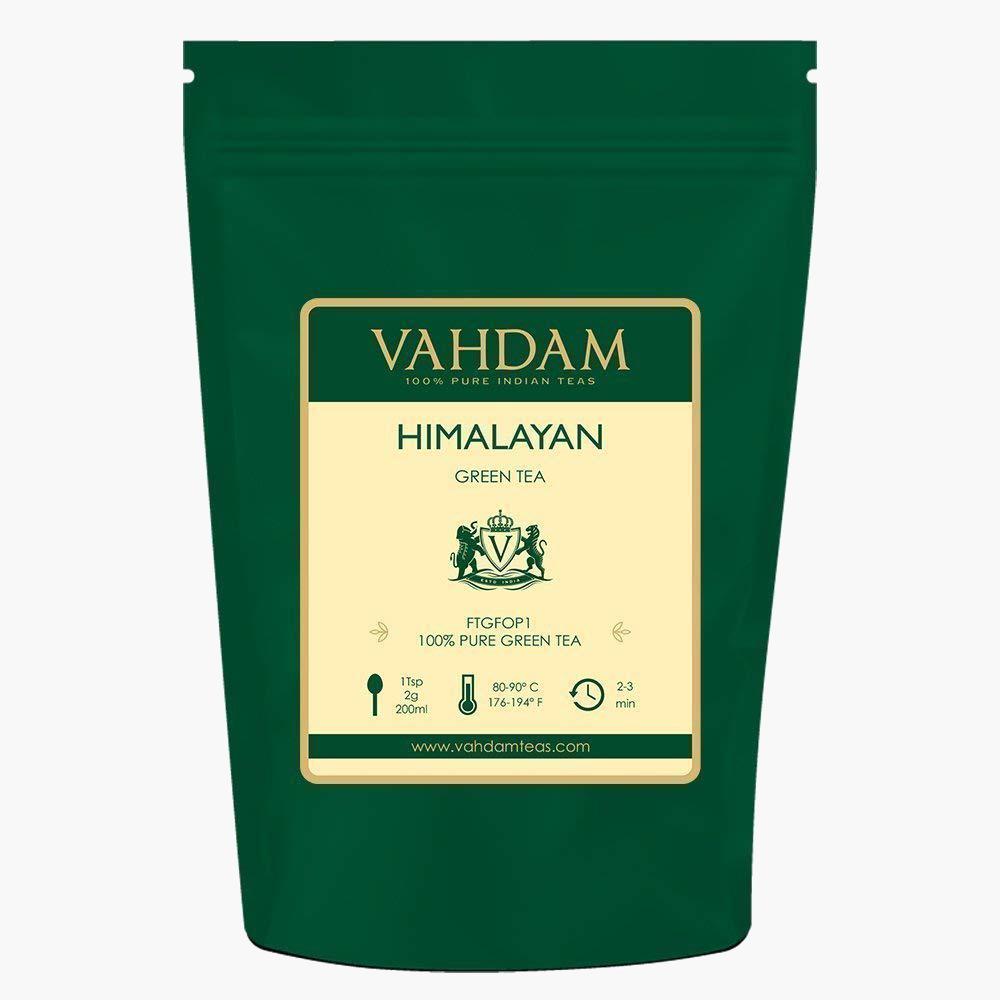 Organic Green Tea - Vahdam Himalayan Green Tea