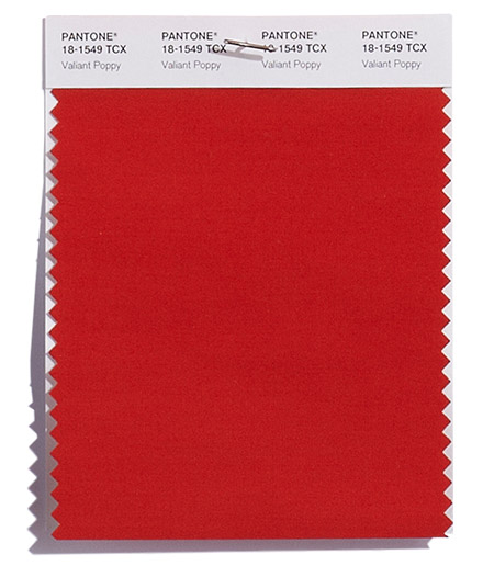 Unpacking Pantone's Fall Color Picks - Valiant Poppy