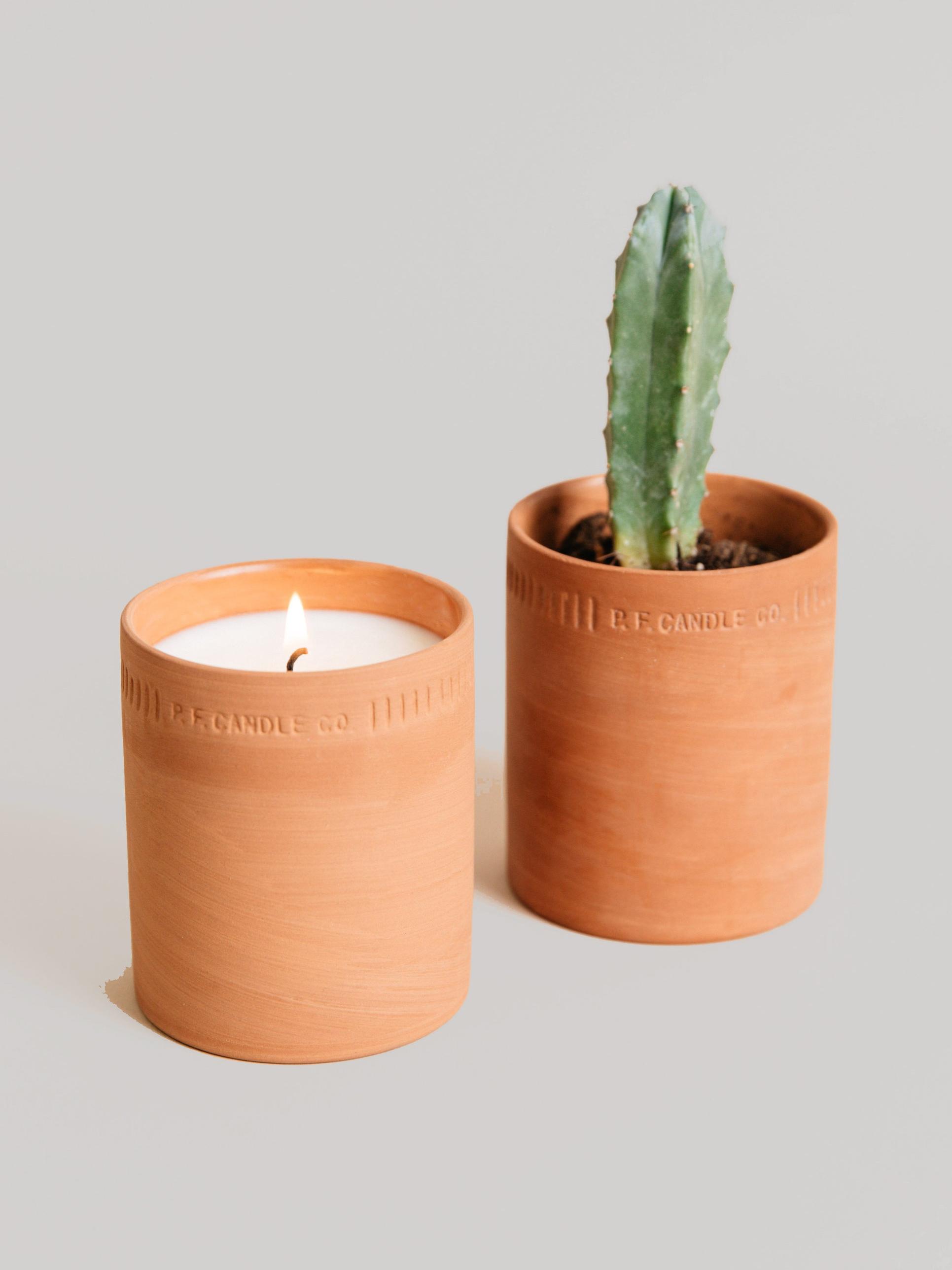 NO. 01: GERANIUM Candle — PJ Candles
