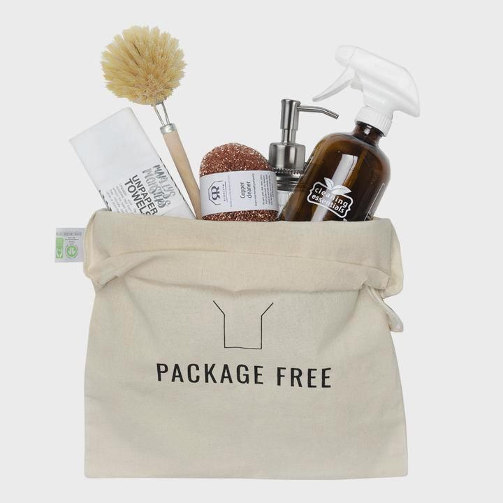 Zero Waste Cleaning Kit from Package Free Shop  - Zero Waste Holiday Gift Guide on The Good Trade