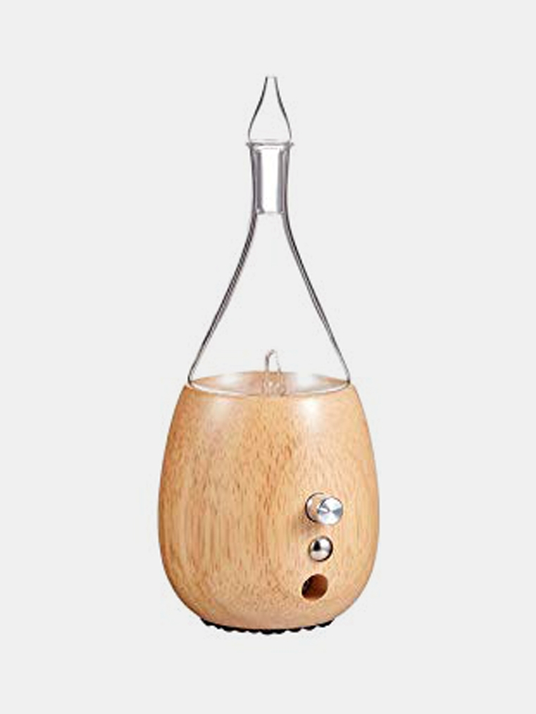 Raindrop - Nebulizing Diffuser from OrganicAromas - Zero Waste Holiday Gift Guide on The Good Trade