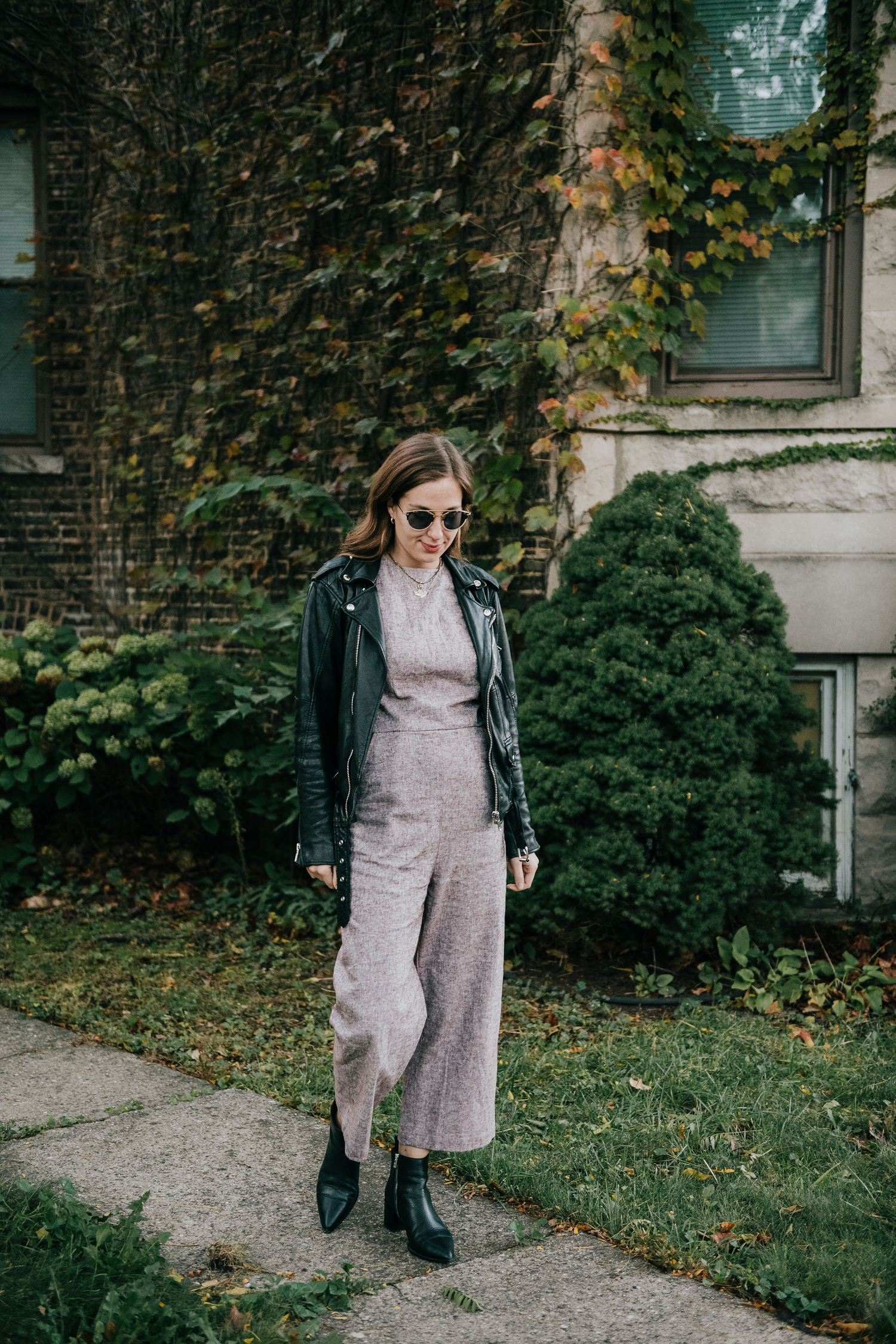 Jumpsuit for fall - A Week Of Ethical Outfits With Heart With Carly Gerber From Hippie + Heart on The Good Trade