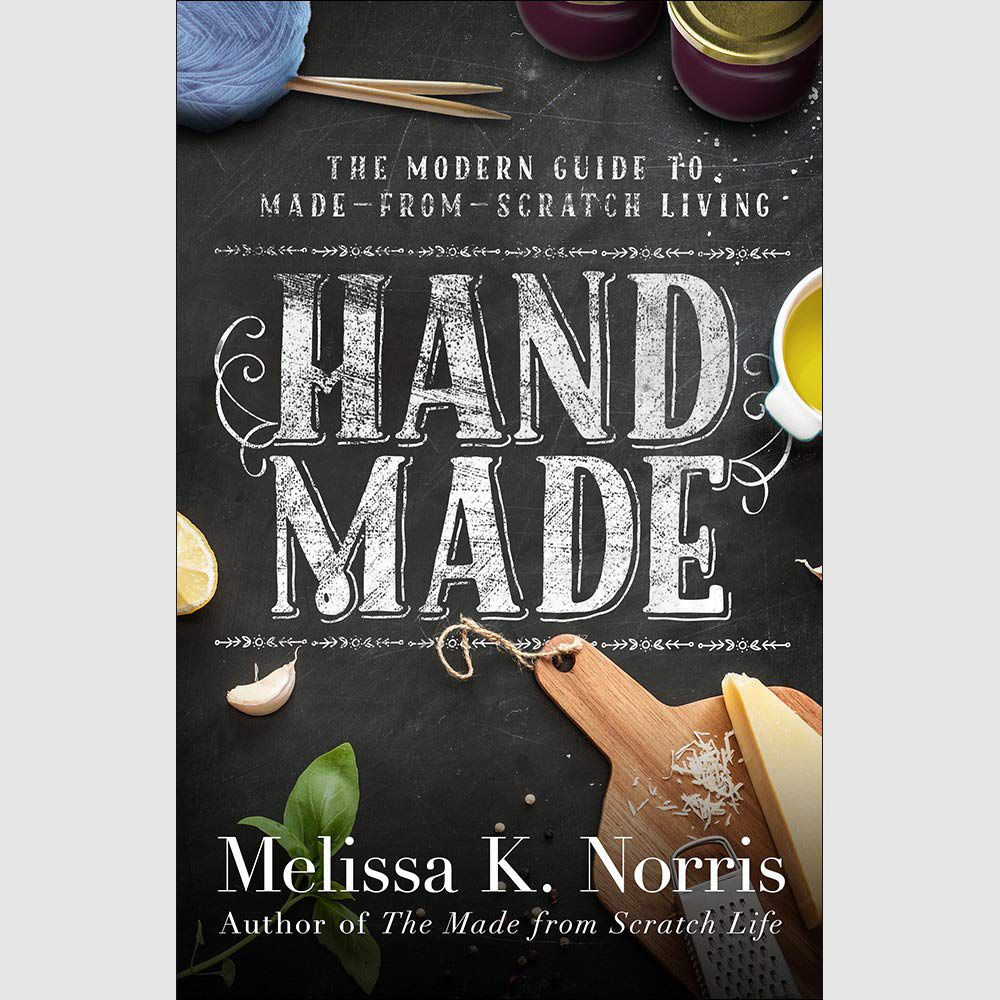 Hand Made Cookbook // Sustainable Cookbooks For Holiday Gifting on The Good Trade