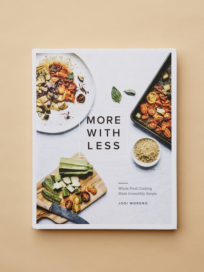 More With Less Cookbook // Sustainable Cookbooks For Holiday Gifting on The Good Trade