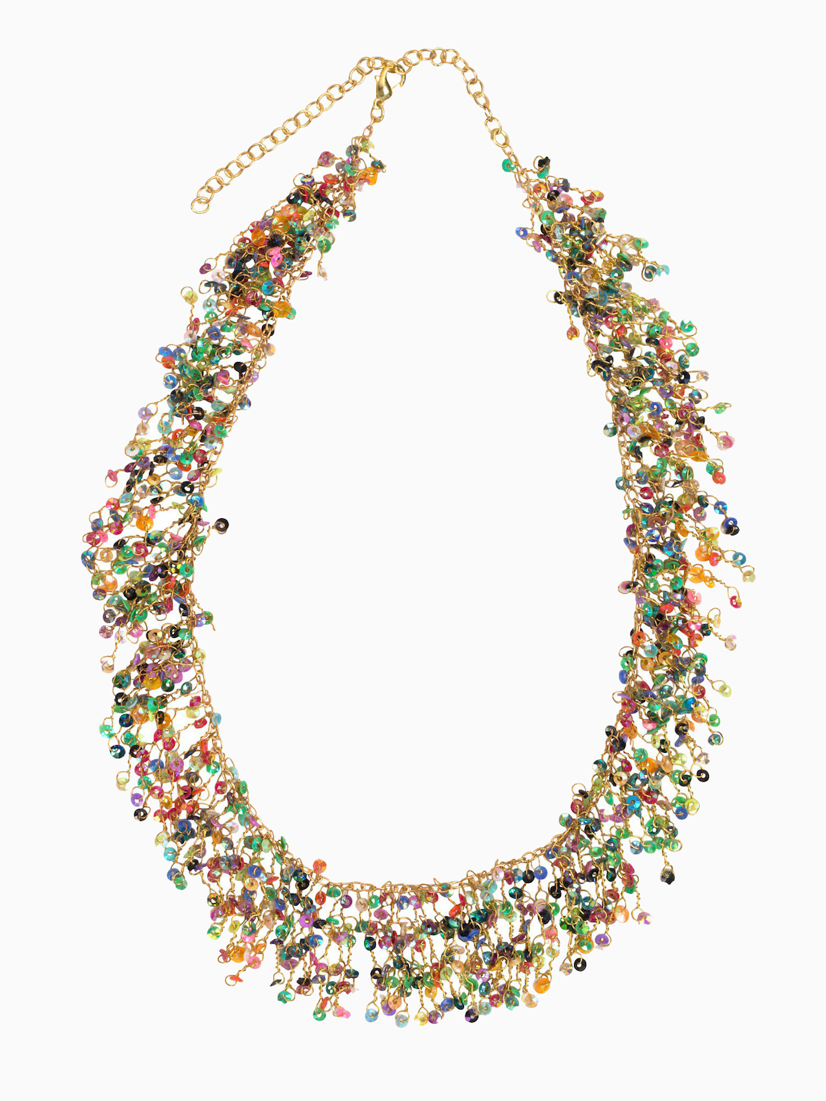All The Colors Necklace from Ten Thousand Villages - Sparkling Sustainable Fashion Statement Pieces on The Good Trade