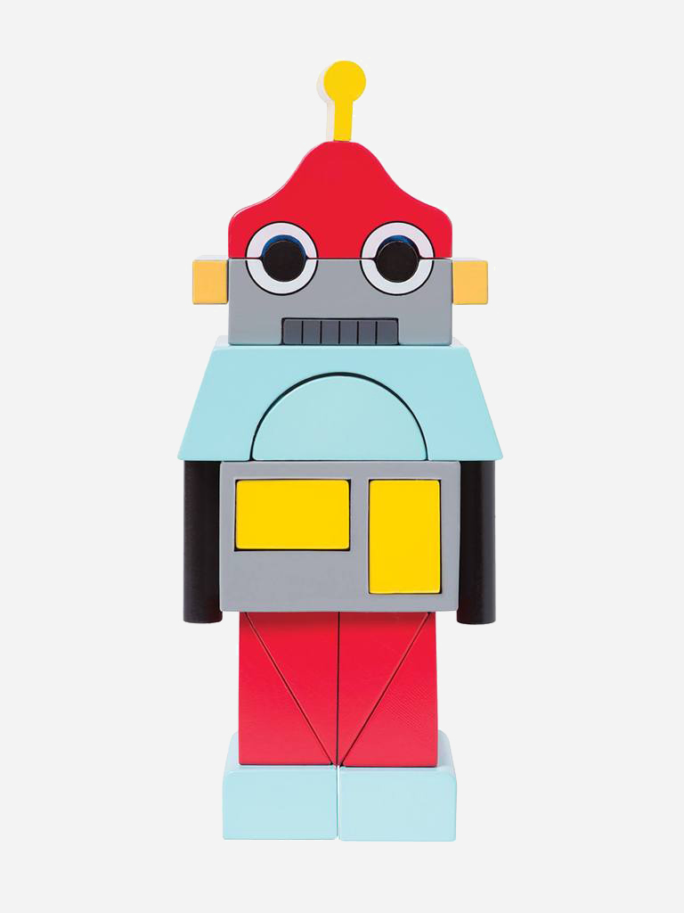 Beep the Robot from Manhattan Toy Company - Plastic Free Gifts For Kids on The Good Trade