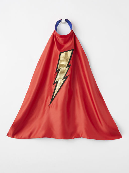 Super Hero Cape from Hanna Andersson - Plastic Free Gifts For Kids on The Good Trade