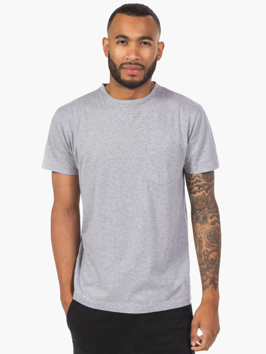 Bradley Pocket Tee by Ably | Men's Capsule Wardrobe on The Good Trade