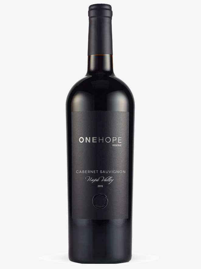 Napa Valley Reserve Cabernet Sauvignon | ONEHOPE Wine // Sustainable Valentine's Day Gifts For Men on The Good Trade