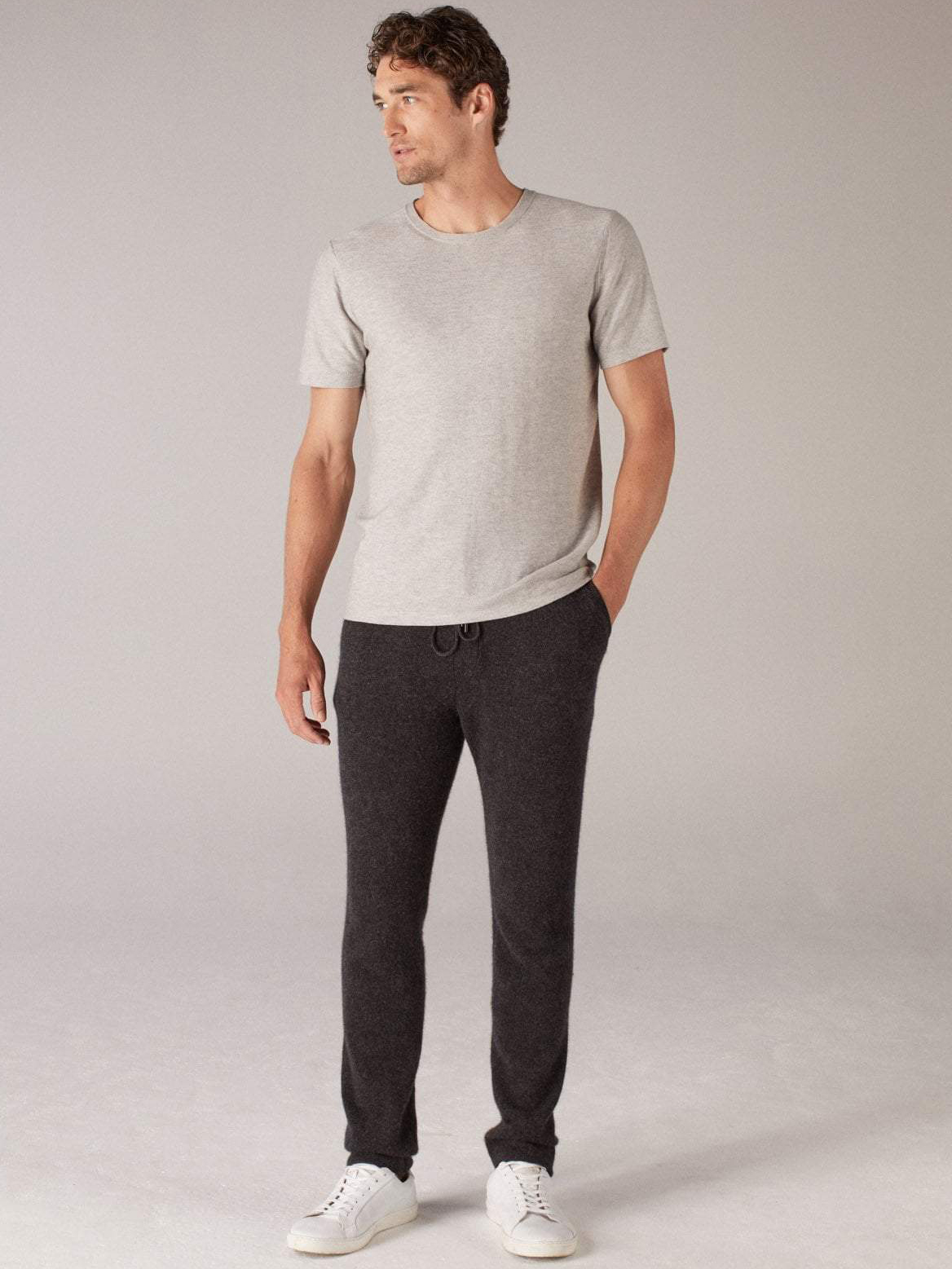 100% Cashmere Sweatpants | Naadam // Sustainable Valentine's Day Gifts For Men on The Good Trade