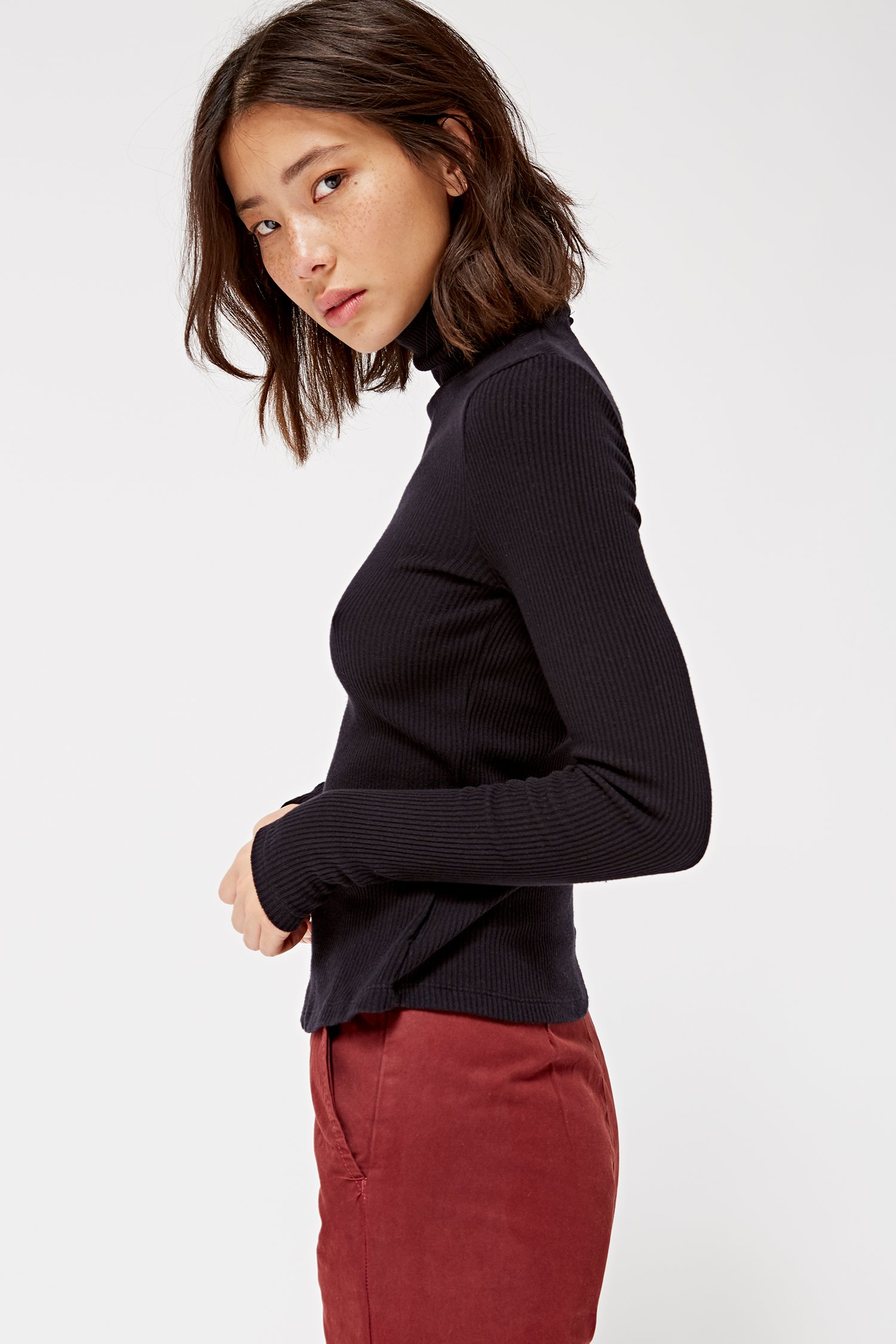 Sweater Rib Turtleneck from Lacausa // Ethical Winter Fashion
