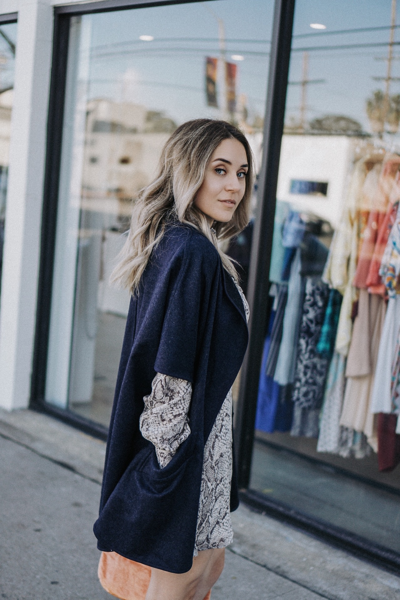 Cute layered outfit // A Week Of Uncompromising Sustainable Style With Sonia Kessler From Native Styling on The Good Trade