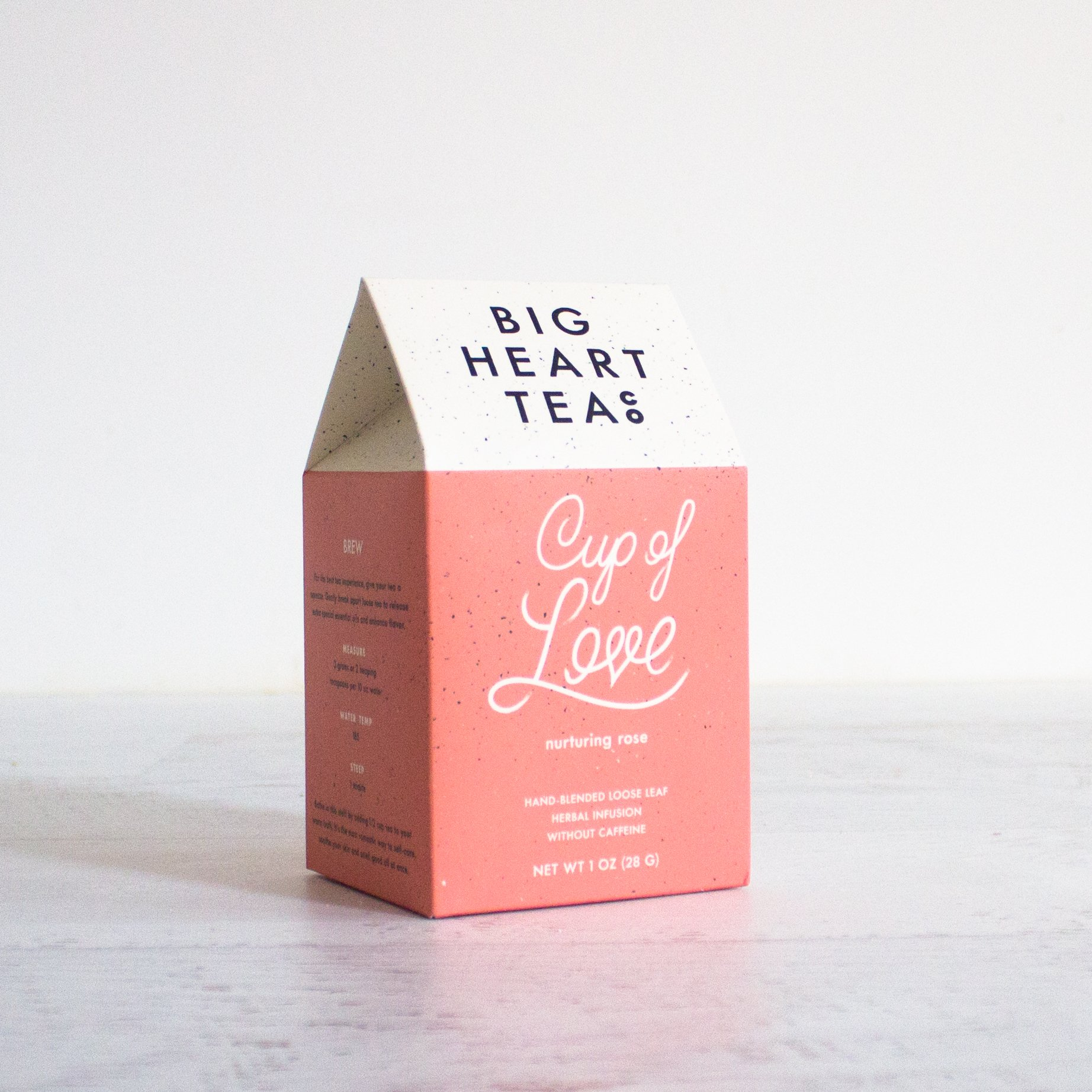 Cup Of Love by Big Heart Tea // Sustainable Valentine's Day Gift Ideas on The Good Trade