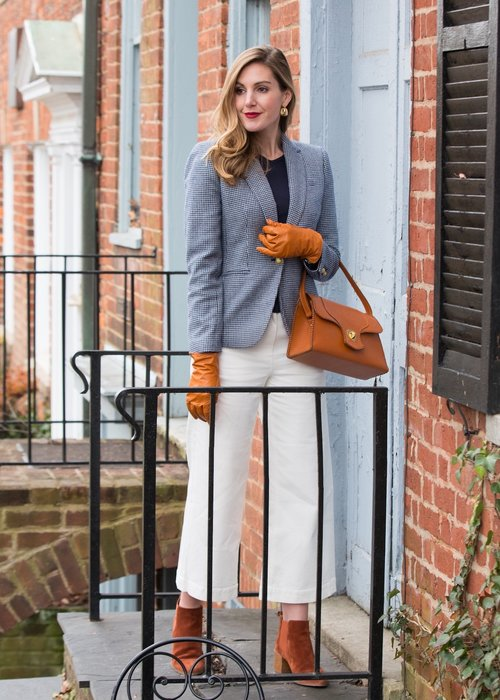 Blazer Date Night Outfit Inspo - April Auger