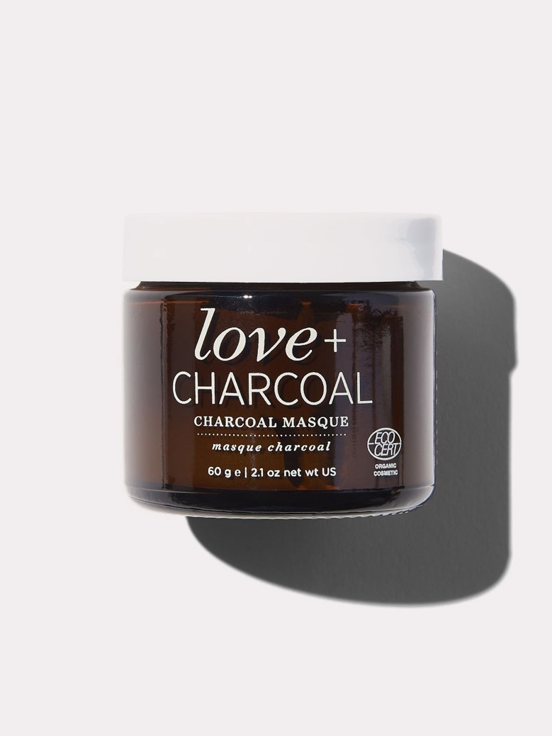 Love + Charcoal Masque by One Love Organics // Sustainable Valentine's Day Gift Ideas on The Good Trade