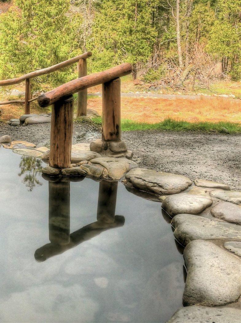 Breitenbush Hot Springs in Oregon