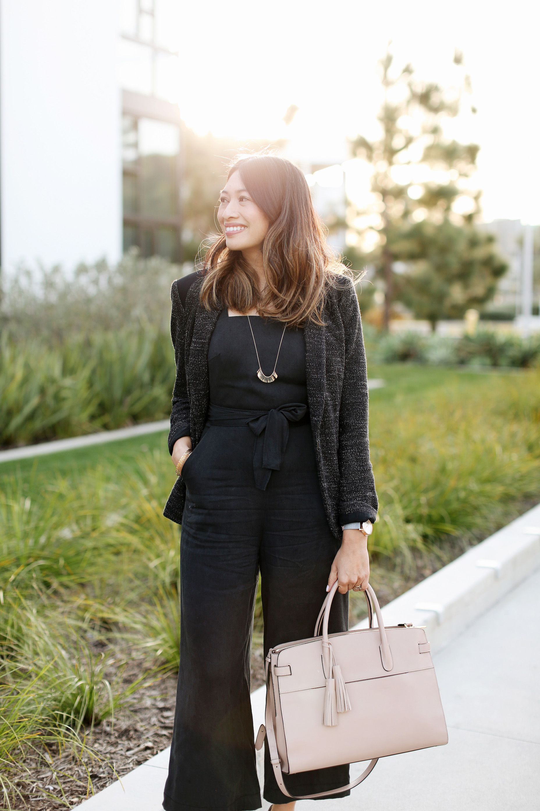 Work outfit idea | A Week Of Polished & Professional Outfits With Sustainable Lifestyle Blogger Jonilyn Brown on The Good Trade